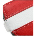 Кожаный чехол книга Melkco Leather Case Red/White LC для HTC Desire S(#3)
