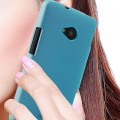 Пластиковый чехол Baseus Plastic Hard Back Case Blue для HTC One M7(#2)