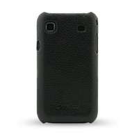 Кожаный чехол накладка Melkco Leather Snap Cover Black LC для Samsung i9000 Galaxy S