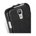 Кожаный чехол Melkco Leather Case Jack ID Black LC для Samsung i9500 Galaxy S4(#4)
