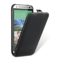 Кожаный чехол Melkco Leather Case Black LC для HTC One M8 mini 2