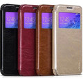 Кожаный чехол HOCO Crystal leather Case Black для Samsung G850 Galaxy Alpha(#4)
