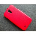 Кожаный чехол Melkco Leather Case Red LC для Samsung i9500 Galaxy S4(#2)