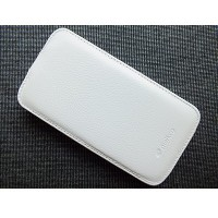 Кожаный чехол Melkco Leather Case White LC для Samsung i9500 Galaxy S4