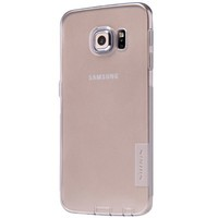 Силиконовый чехол Nillkin Nature TPU Case Grey для Samsung G925F Galaxy S6 Edge