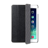 Кожаный чехол Melkco Slimme Cover Type Black LC для Apple iPad Air