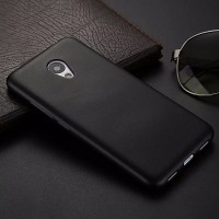 Силиконовый бампер Becolor TPU Case 1mm Black Mate для Meizu M3 Mini\ M3s