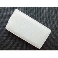 Кожаный чехол Up Case White для Sony Xperia SP M35i