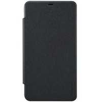 Полиуретановый чехол Nillkin Sparkle Leather Case Black для Microsoft Lumia 640XL