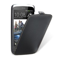 Кожаный чехол-книга Melkco Leather Case Black LC для HTC Desire 500 Dual