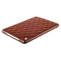 Кожаный чехол Jisoncase Premium Case Brown для Apple iPad mini 2 Retina