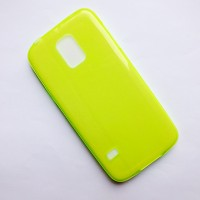 Силиконовый чехол Becolor Light Green для Samsung G800F Galaxy S5 mini