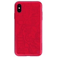 Чехол NILLKIN Machinery Case Красный для Apple iPhone XS Max