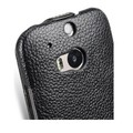 Кожаный чехол Melkco Leather Case Black LC для HTC One M8(#4)