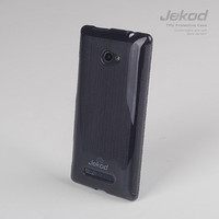 Силиконовый чехол Jekod TPU Case Black для HTC Windows Phone 8X