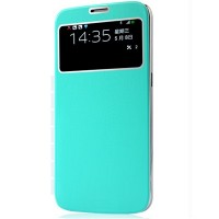 Полиуретановый чехол Baseus UItrathin Folder Cover Green для Samsung i9150 Galaxy Mega 5.8