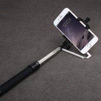 Монопод (палка для селфи) Baseus (QP-01) Selfie Stick Pro Series with Aux Cable