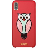 Чехол NILLKIN Plush Case Красный для Apple iPhone XS Max