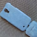 Кожаный чехол Melkco Leather Case Vintage Blue для Samsung i9500 Galaxy S4(#3)