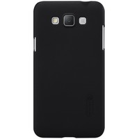 Пластиковый чехол с пленкой Nillkin Super Frosted Shield Black для Samsung G720 Galaxy Grand Max