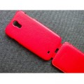 Кожаный чехол Melkco Leather Case Red LC для Samsung i9500 Galaxy S4(#3)