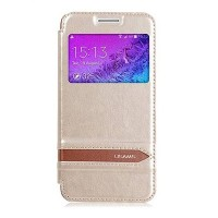 Полиуретановый чехол Usams Merry Series Gold для Samsung G800F Galaxy S5 mini