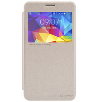Полиуретановый чехол Nillkin Sparkle Leather Case Golden  для Samsung G750F Galaxy Mega 2