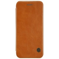 Кожаный чехол Nillkin Qin Leather Case Brown для Apple iPhone 7