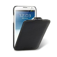 Кожаный чехол Melkco Leather Case Black LC для Samsung N7100 Galaxy Note 2