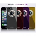 Пластиковый чехол Dreamplus Eileen Circle Series Black для Apple iPhone 5/5S/5SE(#4)