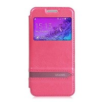 Полиуретановый чехол Usams Merry Series Pink для Samsung G800F Galaxy S5 mini