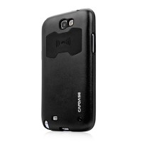 Металлический чехол Capdase Alumor Jacket Black для Samsung N7100 Galaxy Note 2