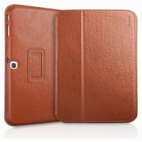 Кожаный чехол Yoobao Executive Leather Case Brown для Samsung Galaxy Tab 3 10.1 P5200