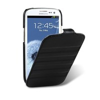 Кожаный чехол Melkco Prime Horizon Black Wax Leather для Samsung i9300 Galaxy S3