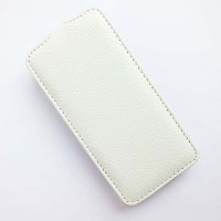 Кожаный чехол Ibox Premium Case White для Samsung G800F Galaxy S5 mini