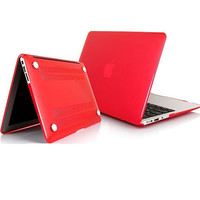 Пластиковый чехол Protective Sleeve Case Red для Apple MacBook Pro 13,3