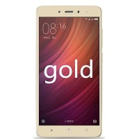 Защитное стекло Aiwo Full Screen Cover 0.33 mm Gold для Xiaomi Redmi Note 4
