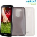 Силиконовый чехол Jekod TPU Case White для LG Optimus G2 Mini D618(#3)
