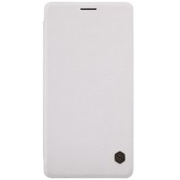 Кожаный чехол Nillkin Qin Leather Case White для Samsung Galaxy A7