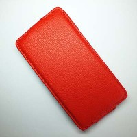 Чехол книга Armor Case Red для Huawei Ascend G750 Honor 3X
