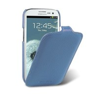 Кожаный чехол Melkco Leather Case Blue LC для Samsung i9300 Galaxy S3