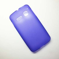 Силиконовый чехол Becolor Purple Mat для Alcatel One Touch SPOP 4030D