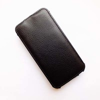 Кожаный чехол Armor Case Black для Samsung G350E Galaxy Star Advance