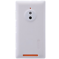 Пластиковый чехол Nillkin Super Frosted Shield White  для Nokia Lumia 830