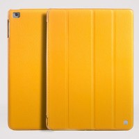 Кожаный чехол HOCO leather case Yellow для Apple iPad Air