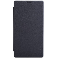 Полиуретановый чехол Nillkin Sparkle Leather Case Black  для Sony Xperia T3