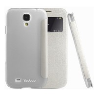 Кожаный чехол Yoobao Slim Leather Case II White для Samsung i9500 Galaxy S4
