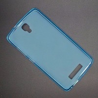 Силиконовый бампер Becolor TPU Case 1mm Blue для ZTE Blade L5/L5 Plus