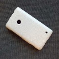 Кожаный чехол Melkco Leather Case White LC для Nokia Lumia 520(#2)