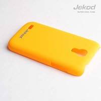 Пластиковый чехол Jekod Cool Case Yellow для Samsung i9190 Galaxy S4 mini
